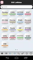 Screenshot of DGK Pocket-Leitlinien