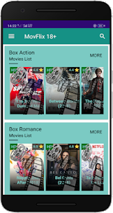 MoFlix 18+ HD Movies 2019 App Download For Android 2