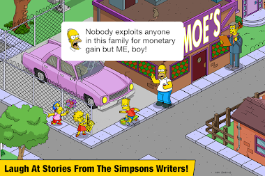 The Simpsons™: Tapped Out APK screenshot thumbnail 5