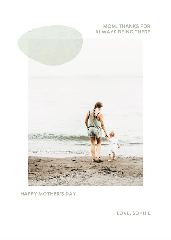Always Being There - Mother's Day Card Template