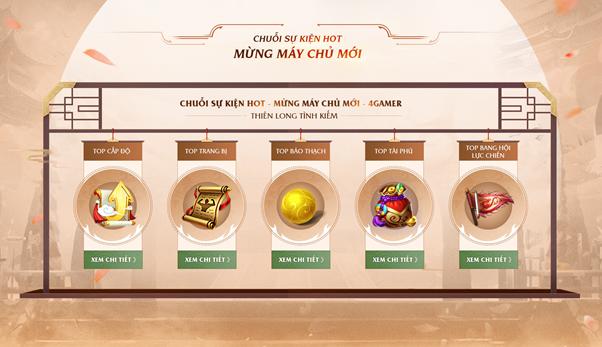 Thiên Long Game4You tung Landing page cho máy chủ mới 4Gamer 5