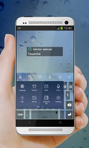 個人化必備免費app推薦|冬季沉默 TouchPal 皮膚Pífū線上免付費app下載|3C達人阿輝的APP