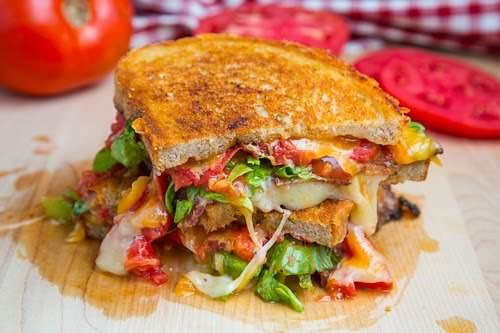 """BLT Grilled Cheese (BLTGC) """"I have to say that this BLT grilled..."""