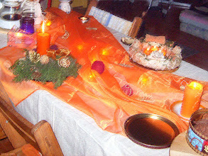 Photo: Fantazyjny stół wigilijny u Tivadara 608 (pastelowo)
