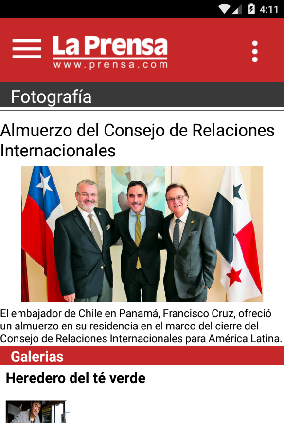 Diario La Prensa- screenshot