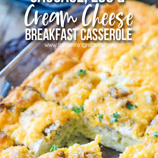 Cream Cheese Breakfast Casserole Recipes.