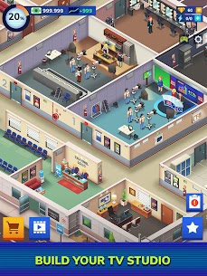 TV Empire Tycoon Mod Apk (Unlimited Money) 0.9.5 8