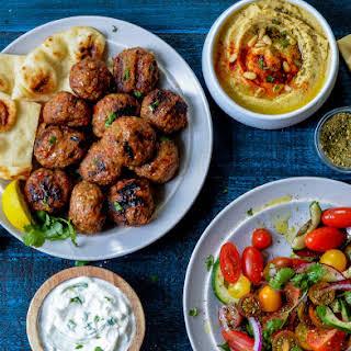 Middle Eastern Lamb Kofta.