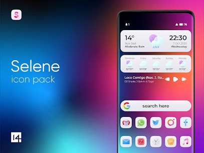 Selene Icon Pack v1.9 [Patched] 1