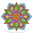 Detailed Coloring Pages for Adults icon