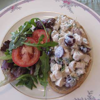 Chicken Salad With Grapes.