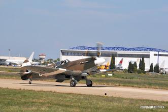 "Photo: Britanique, le Supermarine ""Spitfire"" Mk XIX"