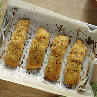 Baked Salmon With Bread Crumbs Recipes.