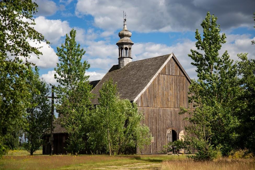 Skansen w Maurzycach, kościół