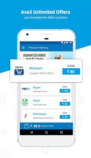 Pocket Money:  Free Mobile Recharge & Wallet Cash- screenshot thumbnail