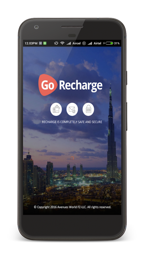 Mobile Recharge–Multi-Currency- screenshot