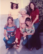Photo: Ina, Sondra, Bonnie, Karin Calif 1976