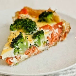 Baked Salmon With Broccoli