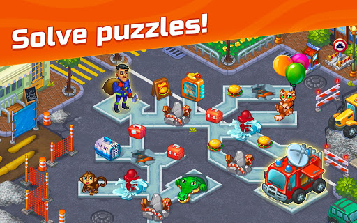 City Rescue Team: Time management game apkpoly screenshots 14