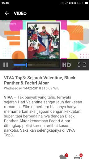 VIVA - Berita Terbaru - Streaming tvOne & ANTV 3.5.3 Screenshots 8