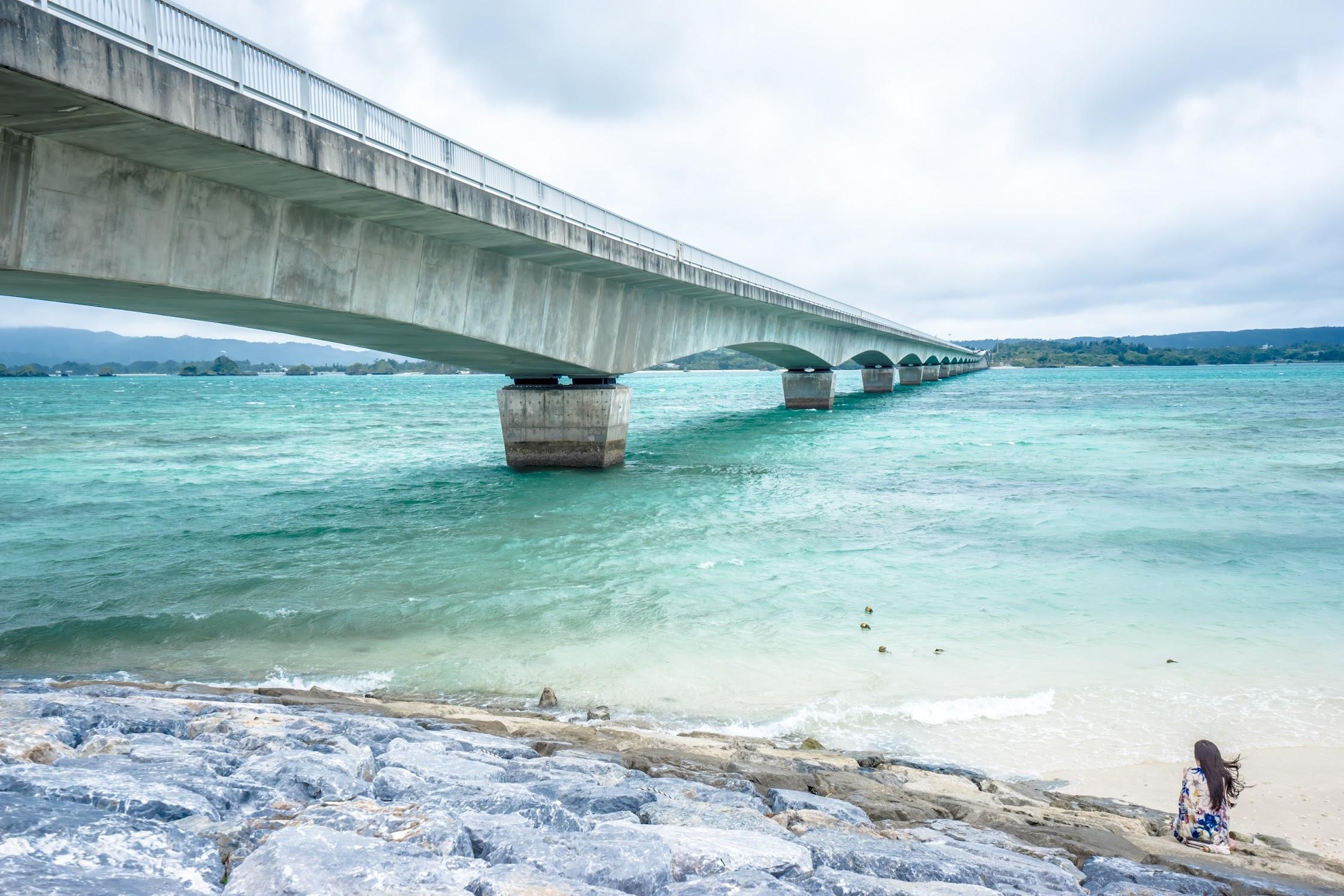 沖縄 古宇利島 古宇利大橋2