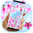 Pink Summer Flower Gravity Theme