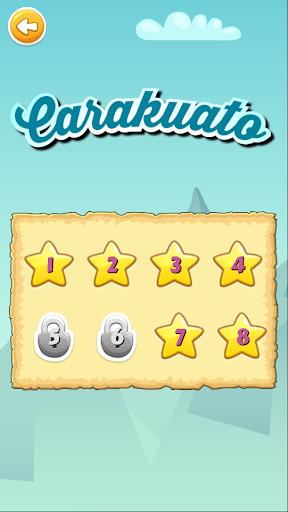 Carakuato frutas y verduras - juegos para niños capturas de pantalla 1