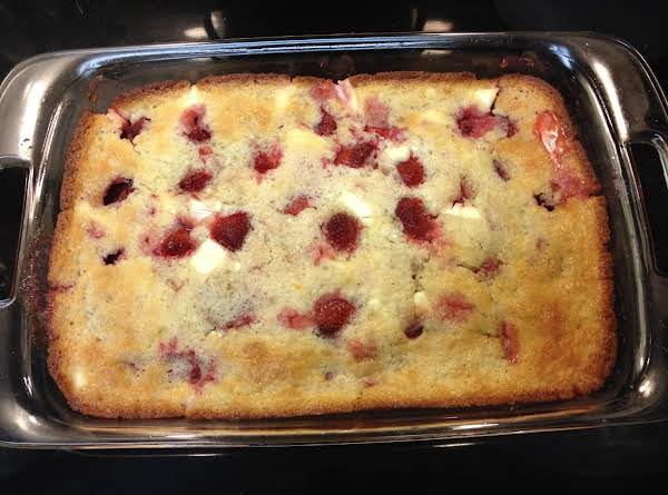 Strawberry Cream Cheese Cobbler Recipe