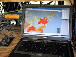 Photo: APRS 144 MHz real-time tropo map Sun. morn. - ARRL June VHF 2014