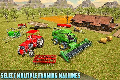 American Real Tractor Organic Farming Simulator 3D apktram screenshots 7