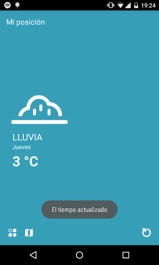 Clima- screenshot