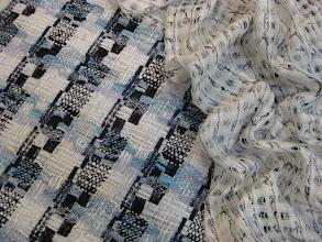Photo: Ткань: шанель (вискоза,шерсть,лен), ш. 135 см., цена 8000р. Ткань: шанель, ш. 140 см., цена 4800р.