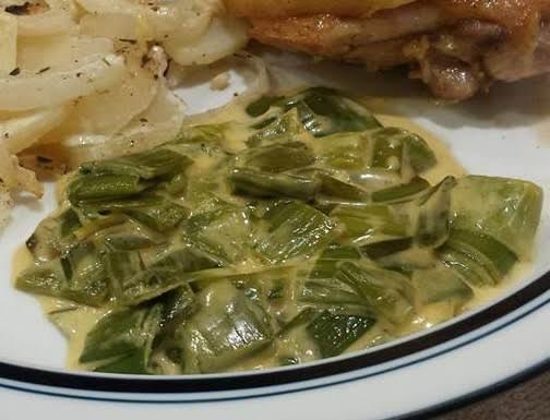 Creamed Leeks Recipe