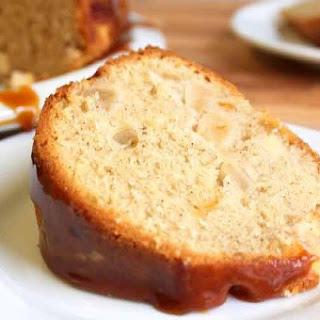 Apple Spice Cake with Caramel Glaze