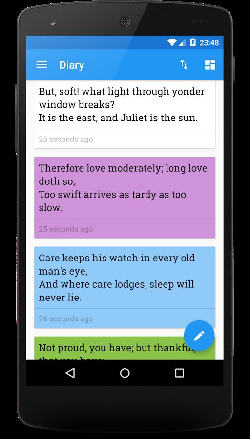 Miary — Private Diary- screenshot