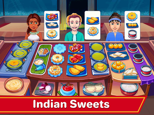 Indian Cooking Madness - Restaurant Cooking Games apkmr screenshots 16