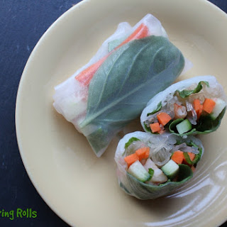 Simple Shrimp Spring Rolls