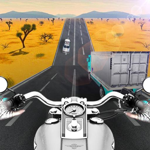 Highway Moto Rider - Traffic Race Icon