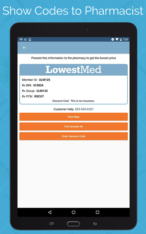 LowestMed Pharmacy Discounts- screenshot