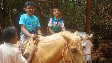 Photo: We like horse riding!