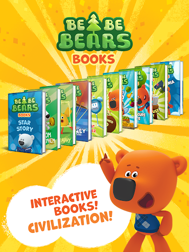 Bebebears: Interactive Books and Games for kids  screenshots 1