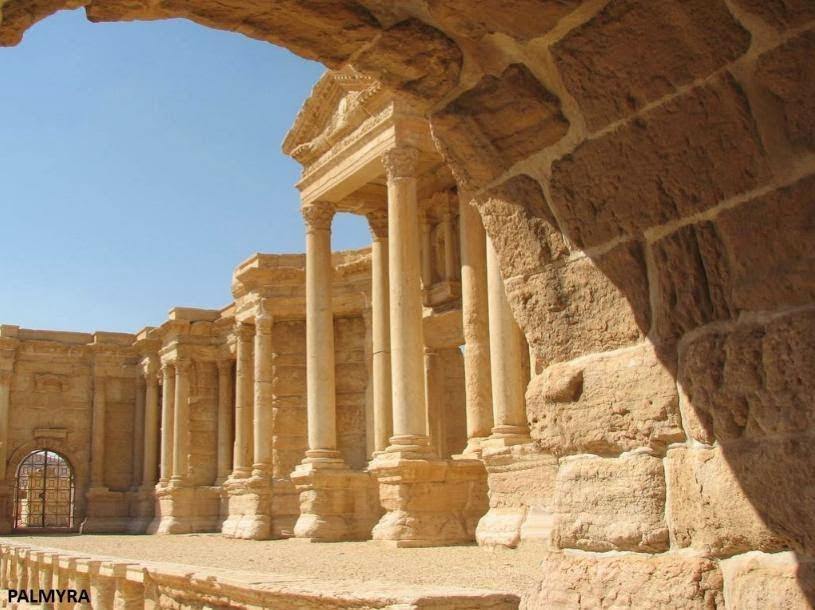 Τέκτων, Ελληνικός Ναός στη Συρία, Builder, Greek Temple in Syria.