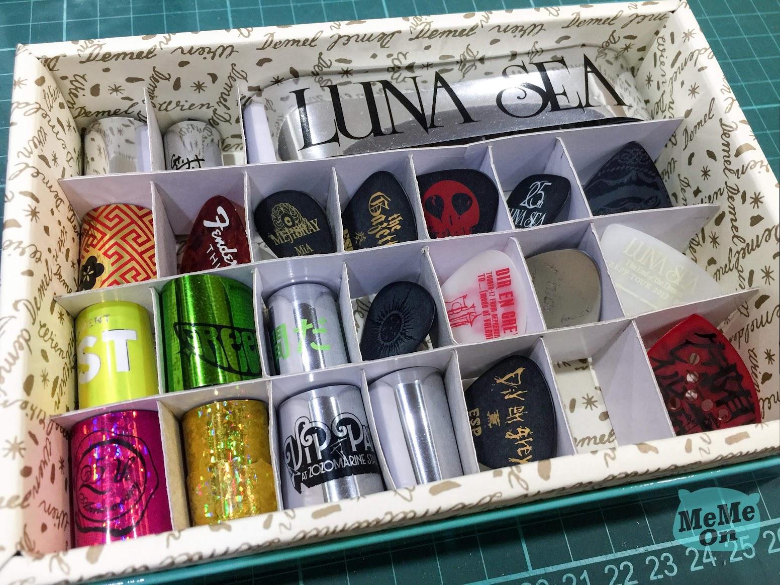 超省錢 pick & 彩帶收納小格展示盒 分隔板 DIY 教學