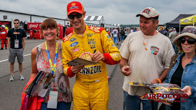 Photo: Roger Penske #22 Ford Joey Logano, without his car.