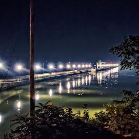 conowongo / bridge / landscape / dam by Fran Kat - Landscapes Waterscapes ( waterscape, dam, bridge, landscape,  )