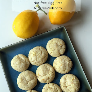 Lemon Vanilla Crinkle Cookie