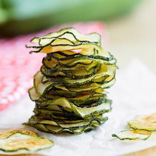 Skinny Baked Zucchini Chips.