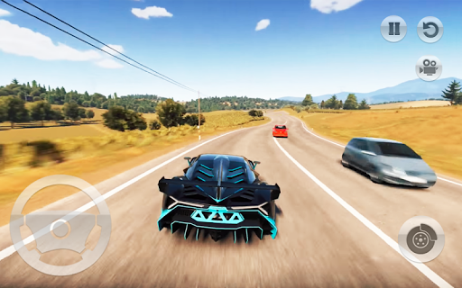 Fast Car Drive : Real Highway Drift Racing Game 3D  screenshots 4