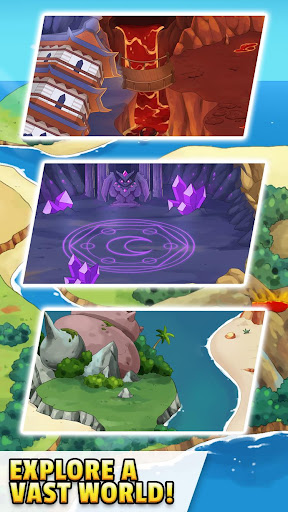 Dynamons Evolution Puzzle & RPG: Legend of Dragons 1.0.90 screenshots 5
