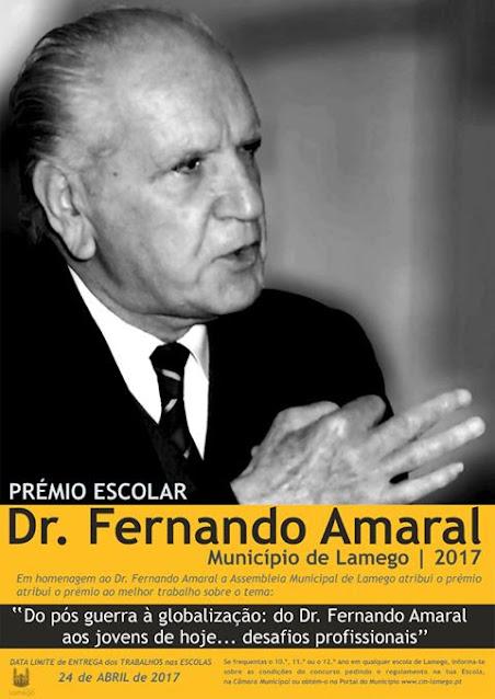 Prémio Dr. Fernando Amaral distingue melhores trabalhos originais